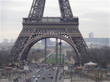 平日のパリの風景・・2