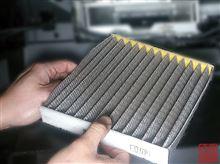 新商品2発!  86/BRZ 用花粉対策・抗菌作用アップ活性炭入りエアコンフィルター と R魔仕様ステッカー