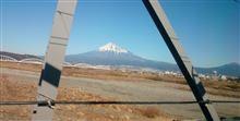 おはよー ~時速200キロオーバーの車窓から富士山を眺める な朝~