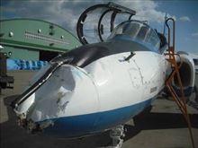 ブルーインパルスの練習機2機が空中接触