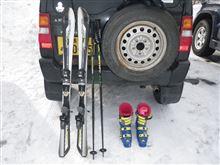 今年は奥飛騨で初スキー