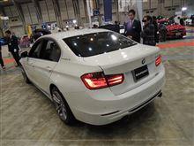 BMW 3シリーズ・セダンのお尻は格好良いですね。