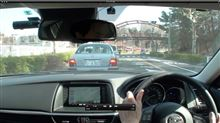 i-DM ブレーキで青点灯