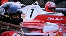 ラウダとハント1976年 F1の世界