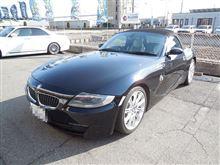 これもメンテナンス BMW Z4 ブレーキローター&ブレーキパッド交換
