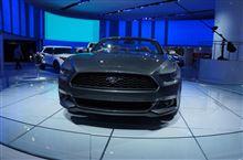 デトロイトショウ2014レポート フォード新型ムスタング