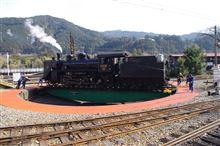 蒸気機関車...