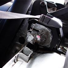 【PP1】運転席 純正シートベルト交換