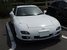 RX-7の痛車化計画?