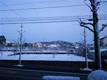 昨日は雪でした(*^^*)