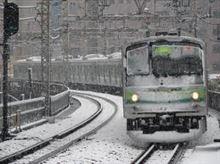 東京で20年ぶりの大雪らしい