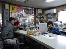 本日(2014年2月8日)のアオイちゃん