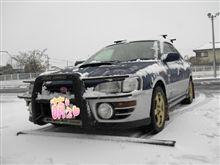 暴風雪(´・ω・`)