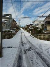 関東的豪雪のあと、しょぼいスノアタ(^_^;)
