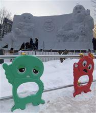 2014 さっぽろ雪まつり・・・ポンキッキ・・・