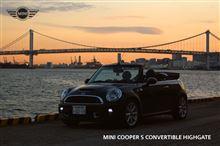 HIGHGATE @レインボーブリッジ ~ MINI CooperS Convertible