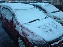 この地域の感覚では、「大雪」ですw