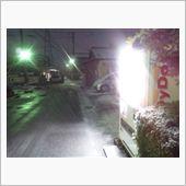 この冬2回目の積雪
