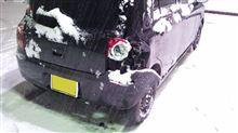 雪道は常に安全運転を