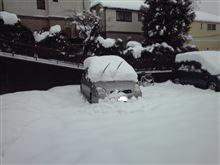 2週連続大雪