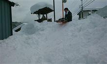 雪のおかげで…