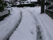 1日中雪かき