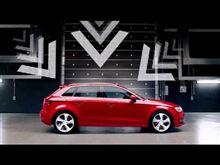 Audi A3のCM