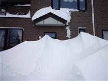 (続)笑っちゃうぐらいの雪です。
