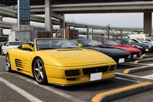 水曜会(Ferrari 348 Club Of Japan) 大黒