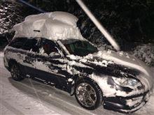 [東京にも大雪] その1・ドライブレコーダーの動画がうまく取れないこともある