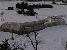 雪の被害はうちのコミュニテイでも数億円だそうで・・・