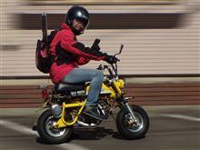 エアロワイパはオートバイには効果無しw