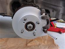 ワゴンR ブレーキパット ブレーキローター交換