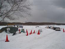 今シーズン最後の白鳥湖氷上練習会無事終了
