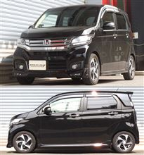 N-WGNカスタム 4WD JH2 ダウンサス 『 Ti2000 』 開発完了!!