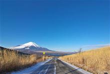 日本の美しい道 「山中湖 三国峠」