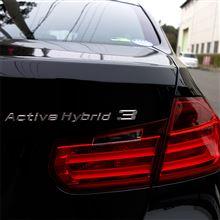 【試乗】BMW ActiveHybrid 3 M Sport (DAA-3F30)