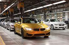 BMW BMW M4(F82) 製造開始