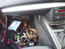 BMW、120i、市販ナビ~純正オーディオ。