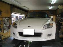 【田中オートサービス】S2000車高調取付