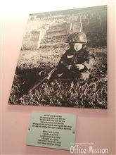 ホーチミンの戦争証跡博物館です。