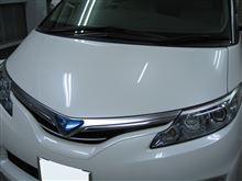 エスティマ ボディガラスコーティング アークバリア21施工 愛知県豊田市 倉地塗装 KRC