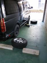 冬タイヤ交換