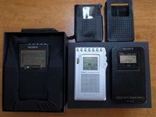 ポケットラジオを新調しました♪