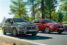 前足 BMW 2シリーズ アクティブ ツアラー
