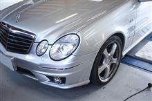W211 Eクラスを安全・快適に^^