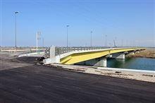 我が街にまた新たな橋が架かりました