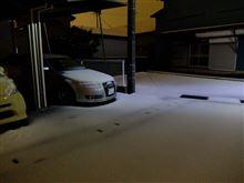 名残雪かな?