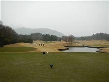 土砂降りの中 ゴルフしてましたぁ
