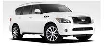 【車道楽日替セール】SUV&トラック祭り インフィニティ QX80用 ブラックライノ トラヴァース 24インチ+ホイールコーティング『アロイドロップ』セット